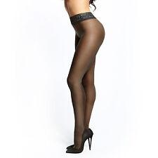 Lingerie Sexy Femme Collant Ouvert P105 - 20D Noir Taille S/M - MISS O