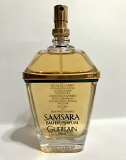 GUERLAIN SAMSRA 75 ML EAU DE PARFUM -'1989/90 VERY VINTAGE SPRAY 2.5FL.OZ RARO