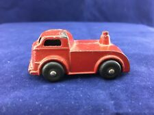 Vintage Barclay Red  Die Cast Toy Transporter 1950s Truck (A5#2)