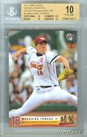2011 BBM Japan #3 Masahiro Tanaka BGS 10 PRISTINE Yankees 175 Million !!