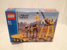 Lego City 7243 Site De Construction NEUF 1 édition