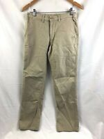 Patagonia Hiking Pants Mens 28 x 29 Beige Flat Front 100% Cotton Casual Outdoor