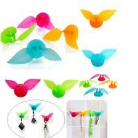 Mini Kreative blatt zahnbürste rasierer wandhalterung saugnapf sucker·badezimmer