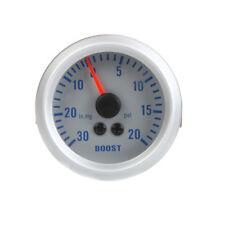 "Car Turbo Boost/Vacuum Gauge Meter 2"" 52mm 0~20PSI /0~30in.Hg 12V US STOCK V5Q4"