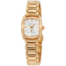 Hamilton MOP Dial Rose Gold Tone Stainless Steel Ladies Watch H12341155