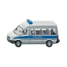 SIKU 0804 Metal Mini Car Police Van Polizeibus