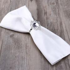 12pcs Napkin Ring Round Serviette Holder Wedding Banquet Elegant Dinner Decor