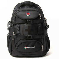 "New Women Men SWISSGEAR Sports Travel Backpack Schoolbag 15"" Laptop Bag Rucksack"