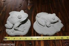 sm frog garden  concrete statue stone yard art .you pick one ! auction is for 1)