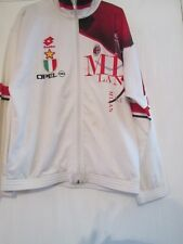1995-1996 AC Milan Training Football Track Suit Jacket Large Adult (7710)