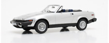 Triumph TR7 DHC Silver 1980 Cult Scale Models 1:18 Scale CML070-1