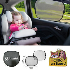 Car window sun shade / UV protector for baby / child / Child on Board car sign