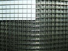 Aviary from Stainless Steel V2A 1x1m/12,7 X 12,7mm/1,5mm Wire Mesh