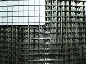 Aviary from Stainless Steel V2A 1x1m/12,7 X 12,7mm/1,2mm Wire Mesh