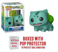 "Funko Pop Pokemon : BULBASAUR #453 Vinyl w/Protector Case ""MINT"" (IN STOCK)"