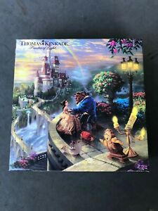 Thomas Kinkade Disney Beauty and the Beast Falling in Love 750 Piece Puzzle