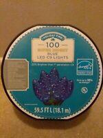 Holiday Time 100 Super Bright Blue LED C9 Lights