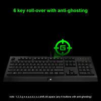 Razer Cynosa Membrane anti-ghosting Gaming Keyboard 104 Keys Wired for PC N9T1