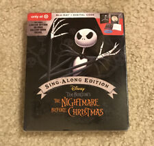 The Nightmare Before Christmas Sing Along Edition Blu ray + Digital Only @Target