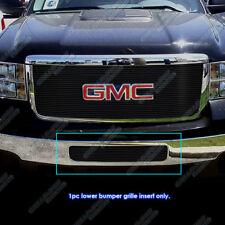 Fits 2011-2014 GMC Sierra 2500HD/3500HD Bumper Black Billet Grille Grill Insert