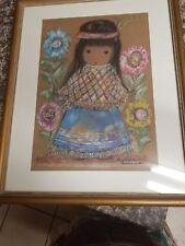Little Cocopah Indian Girl De Grazia