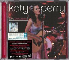 KATY PERRY MTV Unplugged 2009 MALAYSIA / EU LIMITED EDITION CD +PAL DVD REGION 0