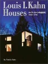 Louis I Kahn Houses Architecture Design Works 1940-1974 Photo Book