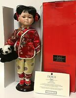 """PS Design LUCI Limited Edition 16"""" Asian Girl Porcelain Doll 2003"""