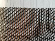 Netz-Stoff Meterware schwarz Outdoor Nylon robust reißfest belastbar 100cm Breit