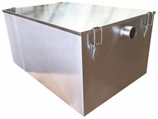 More details for commercial grease trap stainless steel interceptor fat traps restaurant takeaway