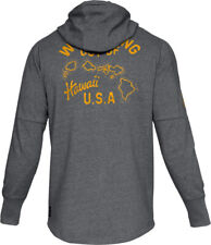 Under Armour Mens XL Graphite Gray UA Project Hawaii USA Full Zip Hoodie Nwt