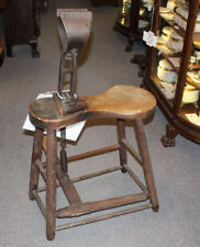 Antique Primitive Horse Harness saddle Maker Bench – Stitching Horse 1892 Patent