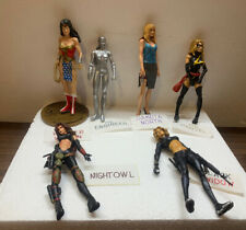 Female Action Figures (Lot of 6) Black Widow, Wonder Woman & Others (B34)