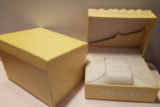 INVICTA Authentic Yellow Watch Box Storage Case with outer box - yellow -large