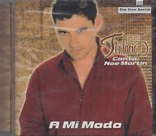 Grupo Tentacion Canta Noe Martin A Mi Modo CD New Nuevo Sealed