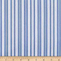 P Kaufmann Hang 10 Marine Striped Outdoor Drapery Upholstery Fabric by the yard