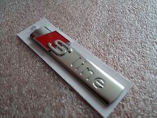 AUDI S-LINE BADGE GENUINE A1 A2 A3 S3 RS3 A4 S4 RS4 A5 S5 RS5 A6 S6 RS6 TT