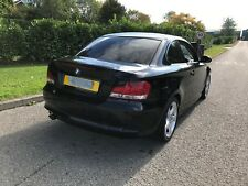 2008 BMW 1 SERIES 120D COUPE SPORT 2.0 DIESEL BLACK DAMAGED REPAIRABLE SALVAGE