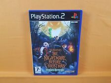 ps2 *NIGHTMARE BEFORE CHRISTMAS Oogie's Revenge* Tim Burton's PAL UK Version