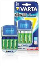 Varta Power Play LCD Charger Schnell, Kompakt Ladegerät für Heimgebrauch oder unterwegs.