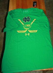 Notre Dame Hockey Green Men`s Shirt 2XL