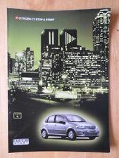 CITROEN C3 Stop & Start 2004 2005 UK Mkt sales brochure