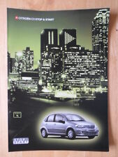 CITROEN C3 Stop & Start 2004 2005 UK inchiostri SALES BROCHURE