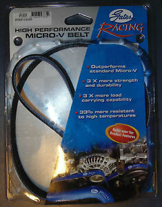 GATES Racing 4PK865R Rib Belt for Nissan Skyline 180SX S13 Honda Civic Integra