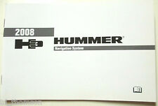 GM 2008 Hummer H3 Navigation Manual #25825838A