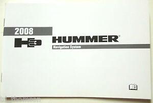 GM 2008 Hummer H3 Navigation Manual #25825838A