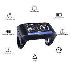 36V/48V TFT-750C color Display Panel For 8Fun bafang Mid-drive Motor BBS01-03