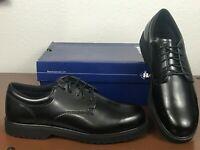 Bates Men's High Shine Black Oxford Duty Work Shoe New 22233 8.5 9.5 11.5 Wide