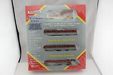 LAST ONE Williams Diesel NEW O scale 4 Car Set with loco and 3 cars NOS lot254.6
