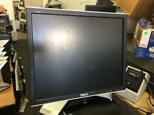 "Dell 1707 17"" monitor with power and VGA cable"